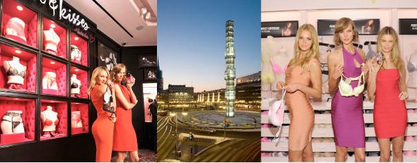 "Victoria's Secret öppnar en butik i centrala Stockholm. Den får konceptet ""Beauty & Accessories Store""."
