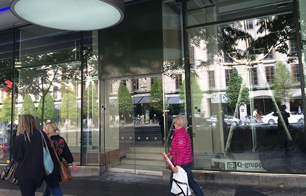Victoria's Secrets första citybutik i Sverige öppnar inom kort mitt emot NK i centrala Stockholm. Bild: Fastighetsvärlden.