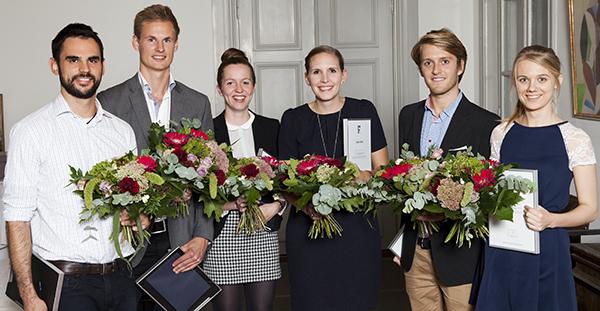 Sju studenter prisades. Foto: Camilla Gewing-Stålhane.