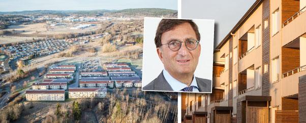 Nystartade Gimmel har förvärvat ett fastighetsbestånd i Sundsvall.