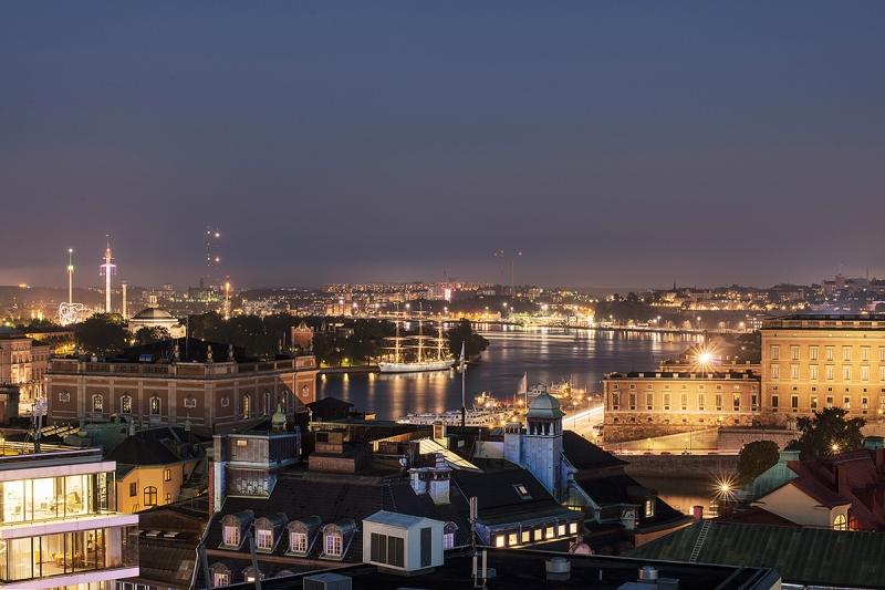 Utsikt från hotelltaket, UrbanEscape