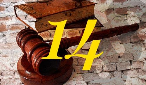 14 ledande advokaterna 2014-15