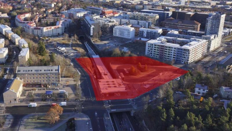 Enligt planen så ska Telefonplans tunnelbanestation överdäckas.