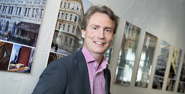 Erik Selin, VD på Balder.