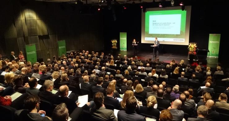Nästintill fullsatt på Fastighetsvärldens stora Uppsalaseminarium.