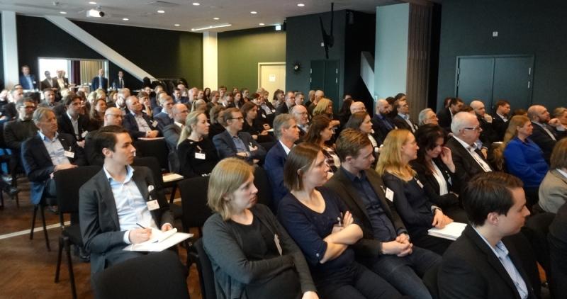 Ungefär hälften av seminariedeltagarna valde temaspåret för kommersiella fastigheter.