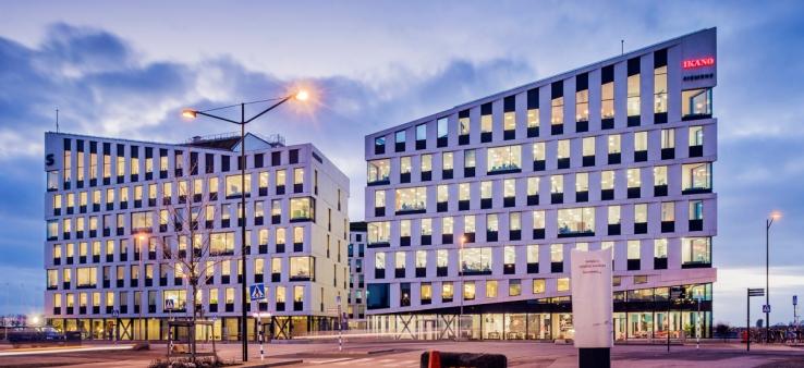 Kontorsfastigheten Klipporna i Hyllie, Malmö.