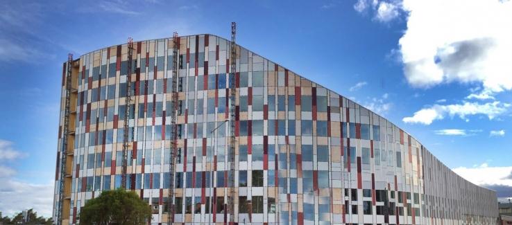 Luleå Office Building. Foto: Ulf Boström