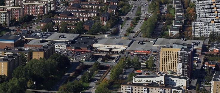 Ny ägare till Rosengård Centrum. Foto: Nordier.