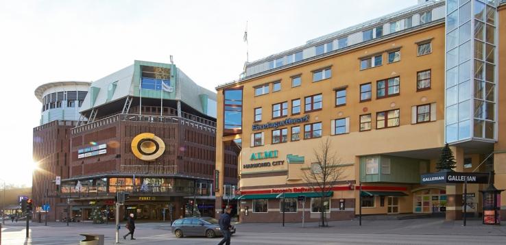 Gallerian och Punkt. Foto: Per-Erik Adamsson.