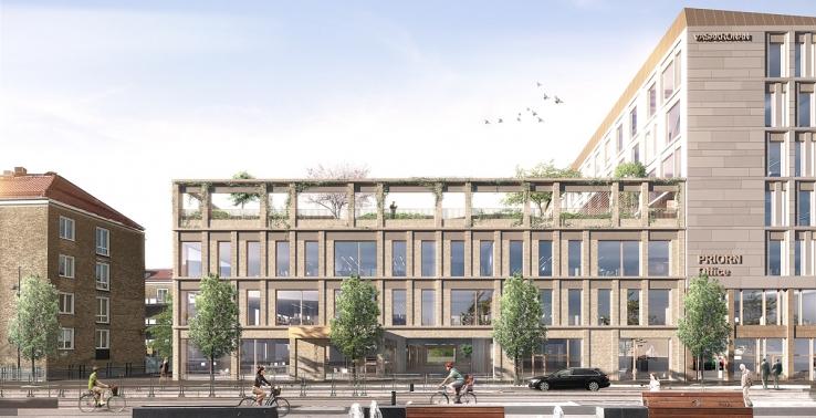 Vasakronan laddar för nyproduktion i centrala Malmö. Nu har tekniska nämnden stoppat markköp. Vasakronan/WhiteBild.