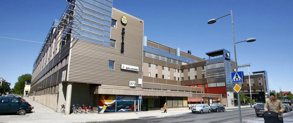 Rättscentrum i Luleå har fått en ny ägare när Castellum säljer för 486 miljoner kronor. Bild: Castellum.