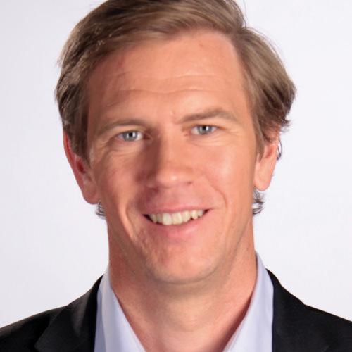 Pontus Herin, ekonomijournalist och dagens moderator