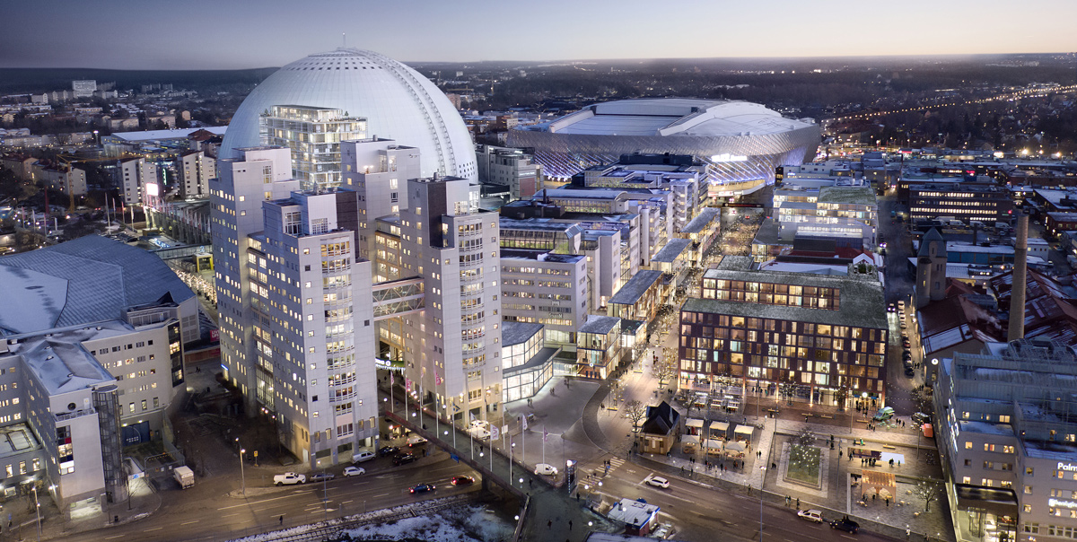globen köpcentrum