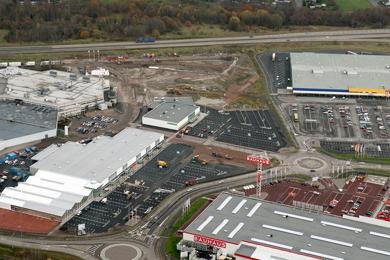 fdda3ccbd327 Sveafastigheter har påbörjat byggnationen av Modehuset i det nyutvecklade  handelsområdet Hansa City i Kalmar. Enligt tidningen Barometern kommer  huset, ...