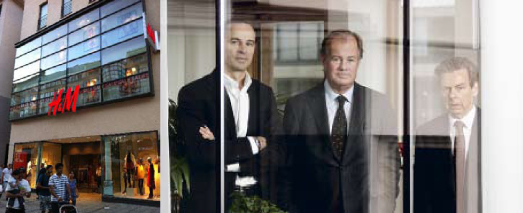 Stefan Persson har tillsammans med kollegorna i Ramsbury Property, Lars Drangel och Per Asplund, gjort första köpet i Tyskland.