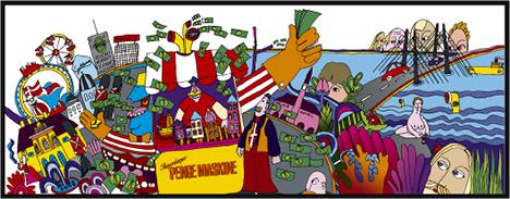 Illustration ur Fastighetsvärlden Nr 2/2006.