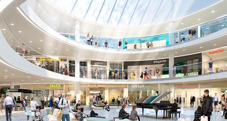 mall of scandinavia antal butiker