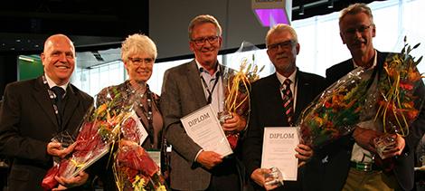 Claes Göthman (Stockholms Kooperativa Bostadsförening), Annsofi Aurell (Varbergs Bostads AB), Tommy Viebke (Perstorps Bostäder AB), Sonny Modig (MKB Fastighets AB) och Håkan Svensson (Melin Förvaltnings AB)