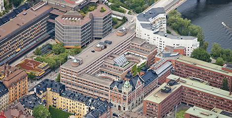 Fabege säljer färdigutvecklade Klamparen 10 på Kungsholmen. Bild: Tenzing.