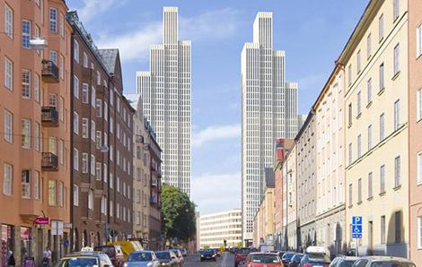 Den 25 maj 2011 drog Stockholms stad tillbaka markanvisningen för Tors torn, och projektet ligger för närvarande på is. Anledningen var att företaget bakom projektet, Oslo Naeringseiendom, inte får ekonomin för projektet att gå ihop.