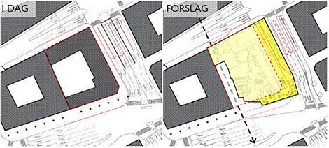 Förslag för Snäckan 8 vid Tegenbacken.