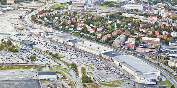 Bromma Blocks i Stockholm. Bild: Tenzing.