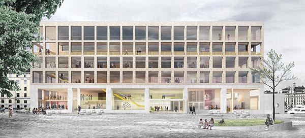 Bidraget från Johan Celsing Arkitektkontor.