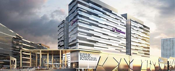 Scandinavian Office Building i Arenastaden, Solna. Illustration: Bild: Reflex Arkitekter.