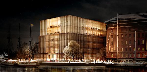 Det vinnande förslaget – från tyska David Chipperfield Architects.