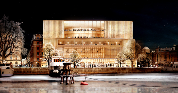 Nobelhuset blir Chipperfields första projekt i Sverige.