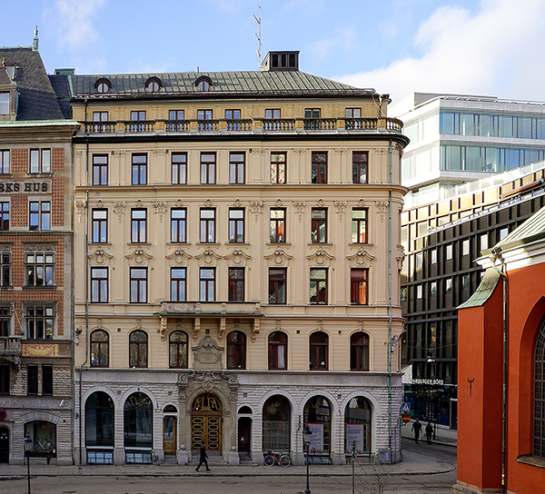 Fastigheten ligger nära Kungsträdgården. Foto: Åke Gunnarsson