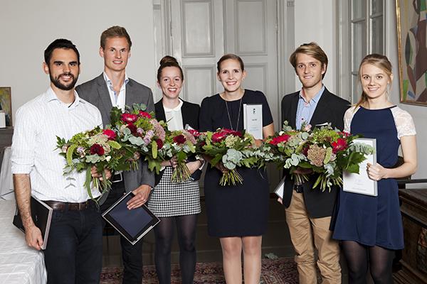 Studenterna som fick pris. Foto: Camilla Gewing-Stålhane