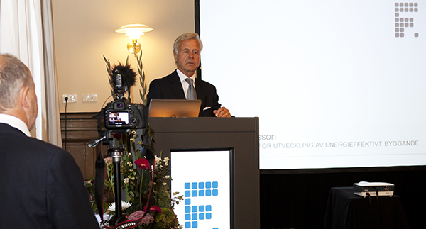 Hans Eliasson, initiativtagaren till priset. Foto: Camilla Gewing-Stålhane.