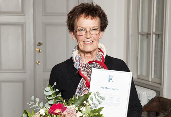 Ing-Marie Odengren fick pris som Årets Opinionsbildare.