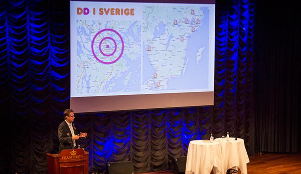 Tommy Svensson, VD för Coffe and Brands, franchisetagare för Dunkin Donuts.