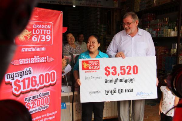 Bild: Dragon Lotto 6/39.