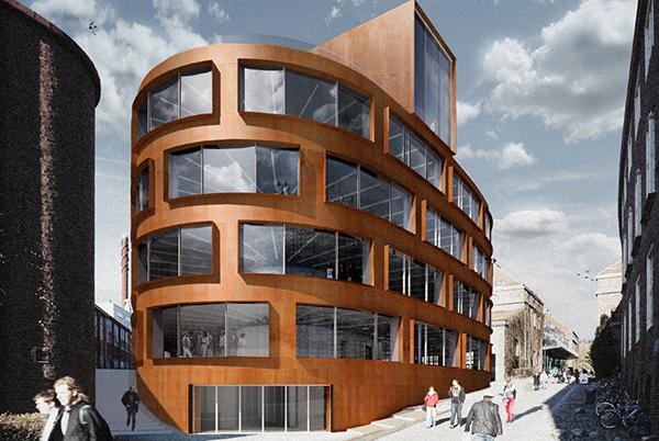 Nya Arkitekturskolan tas i bruk höstterminen 2015. Byggnaden ligger inne på KTH-området.