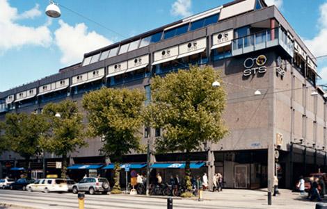 NK-varuhuset på Östra Hamngatan 42 i Göteborg. NK i Göteborg slog upp portarna 1971. Bild: Hufvudstaden.
