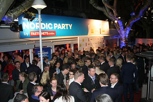 Det var sjätte året som Fastighetsvärlden arrangerade Nordic Party.