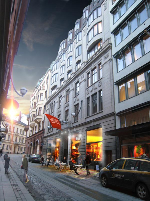 Stureplansgruppen tar över bland annat advokatfirman Setterwalls lokaler. Våren 2017 ska Bank Hotel slå upp portarna.