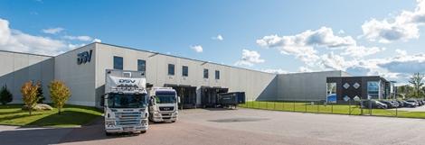 DSV ärt hyresgäst i flera av fastigheterna som det danska konsortiet förvärvar. Foto: NREP.
