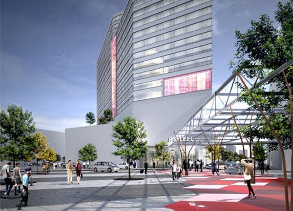 Swedavia planerar för ett högt hotell.