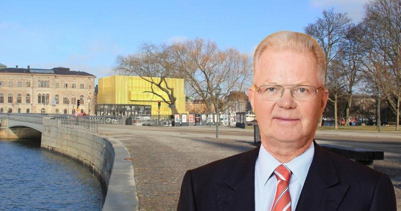 Fredrik Lundberg och Nobel Center