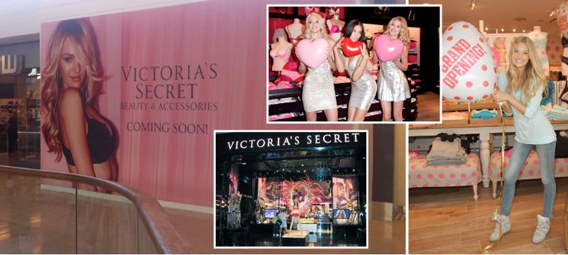 d67ffb5601 Victoria s Secret öppnar butik i Täby Centrum