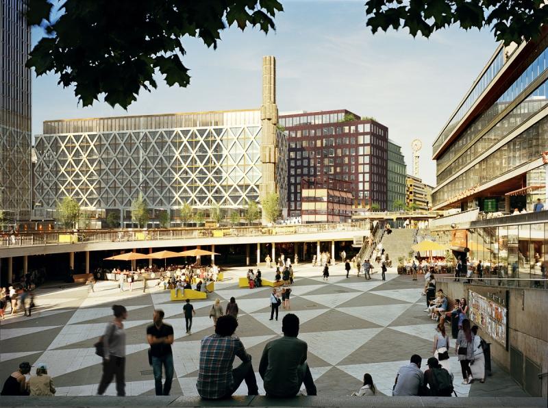 Bild: Vasakronan/Marge Arkitekter.
