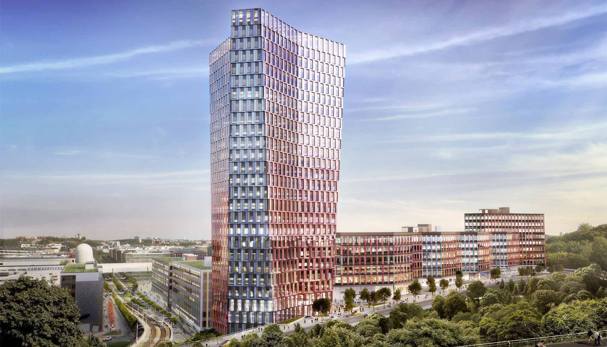 Stockholm 01 är planerat att bli 30 våningar högt.