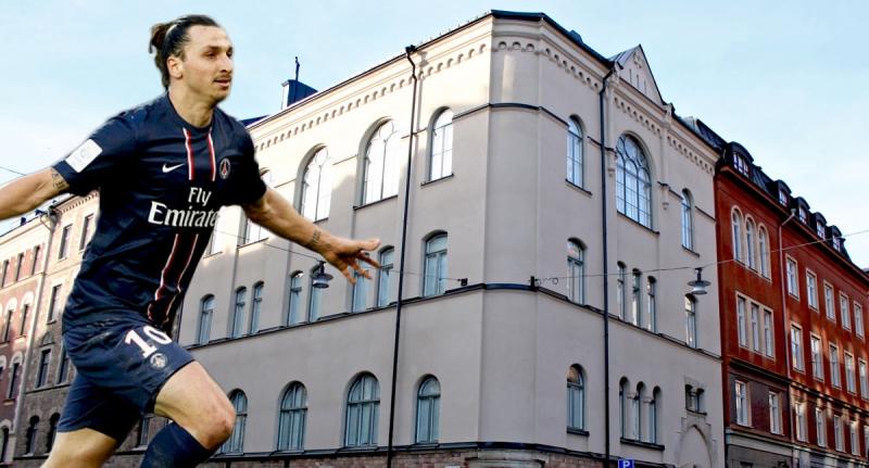 Fastigheten på Storgatan 26.