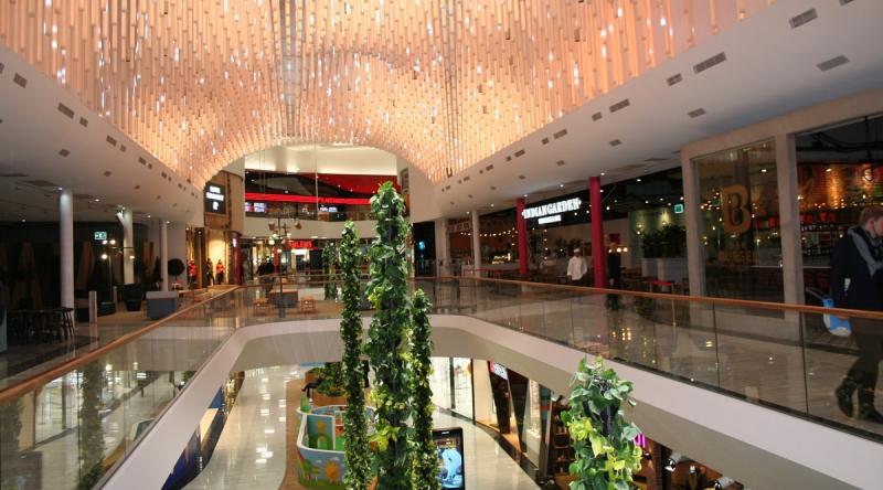 Mall of Scandinavia i Solna ägs av Unibail-Rodamco.
