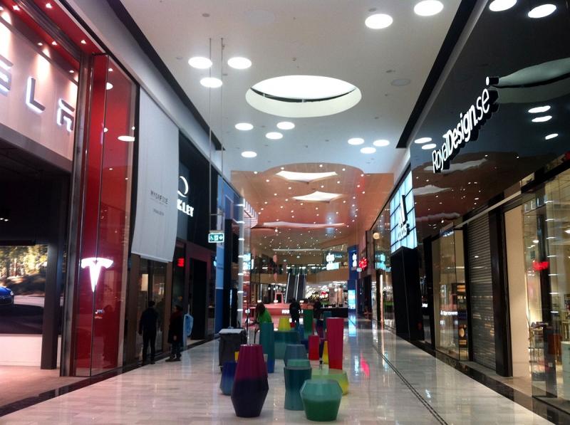 Mall of Scandinavia interiör
